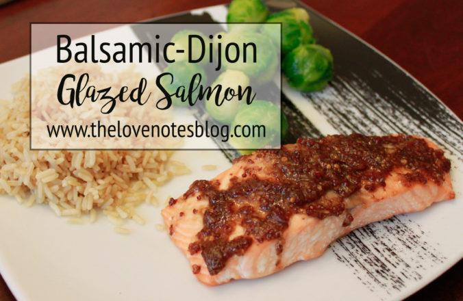 balsamic dijon salmon